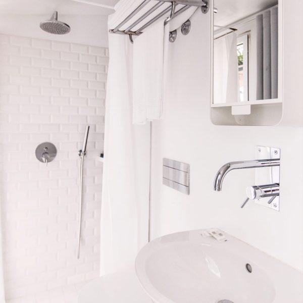 Casca de banho dos quartos